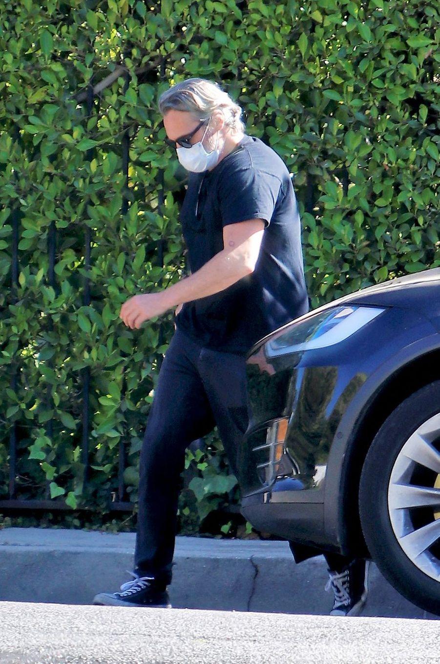Joaquin Phoenix à Los Angeles le 6 août 2020