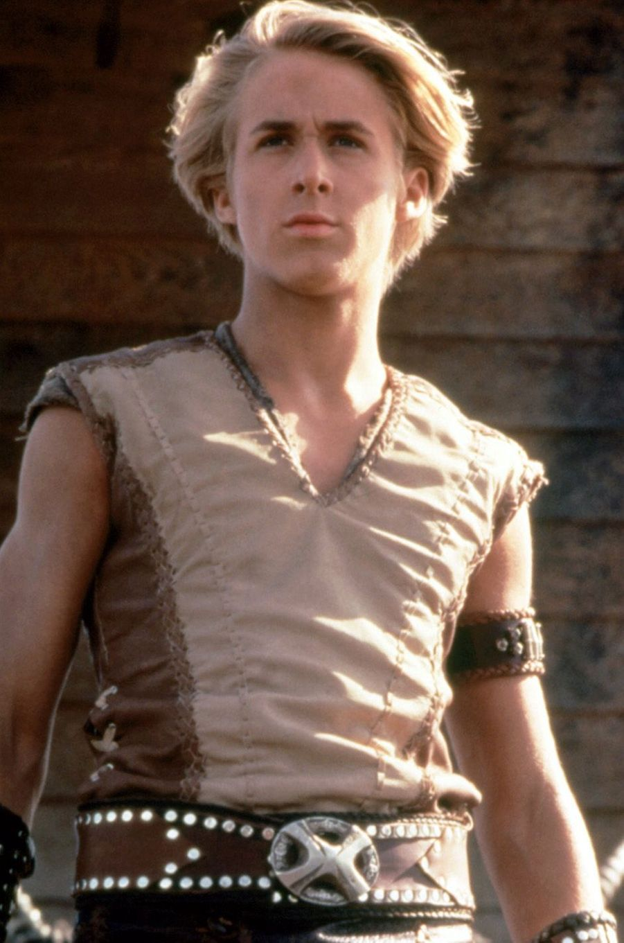 "Ryan Gosling dans ""Hercule contre Arès"", en 1998."