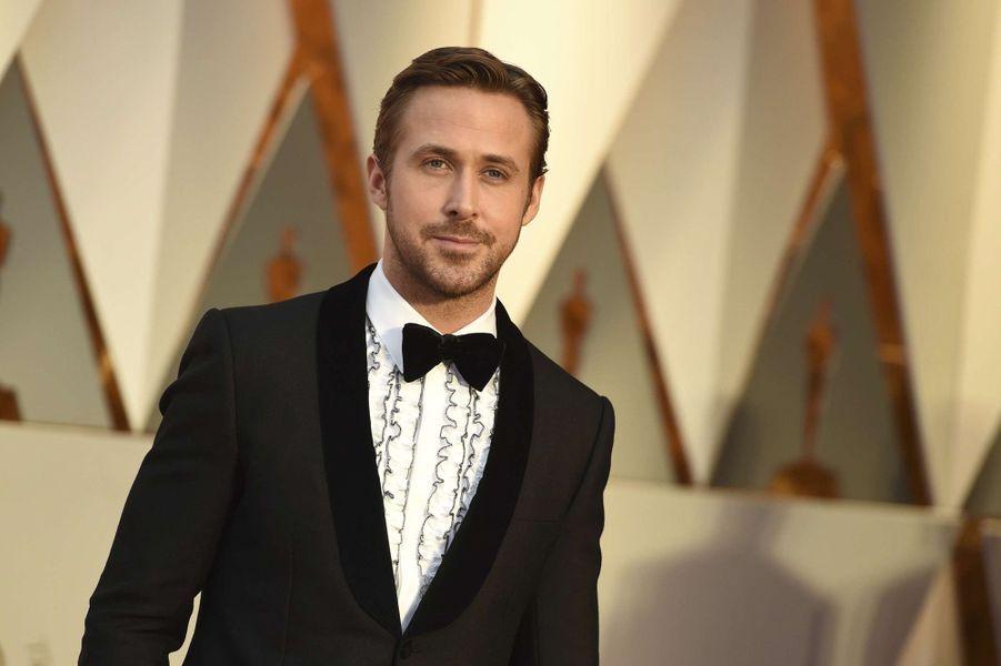 Ryan Gosling à la cérémonie des Oscars, le 26 février 2017.