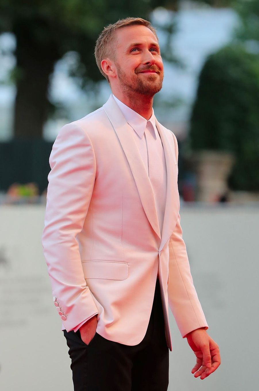 Ryan Gosling à l'ouverture de la 75eme Mostra de Venise