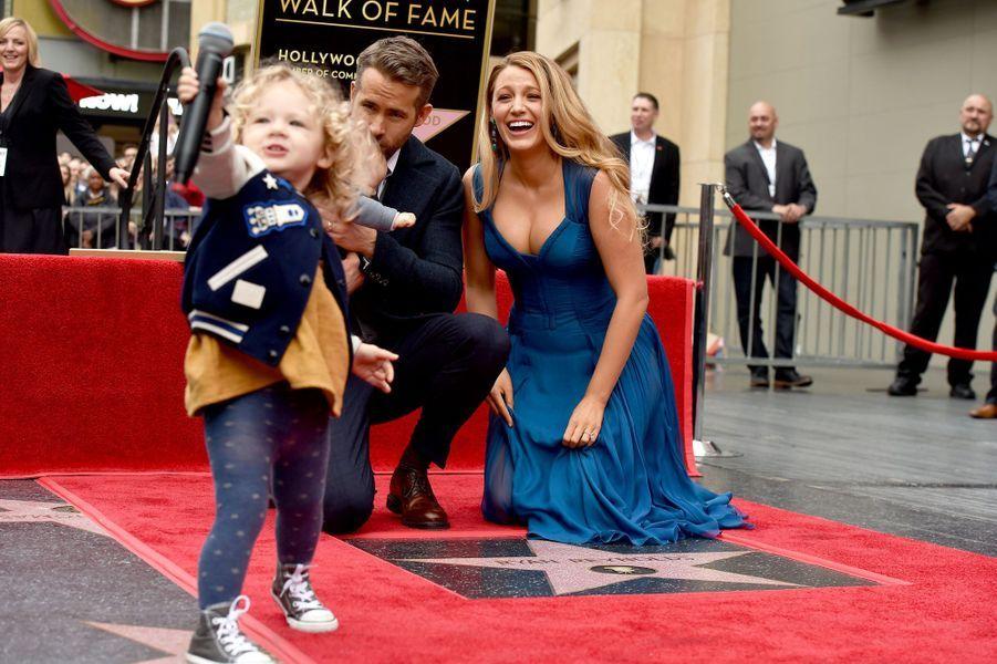 Ryan Reynolds, sa femme Blake Lively et leurs deux filles