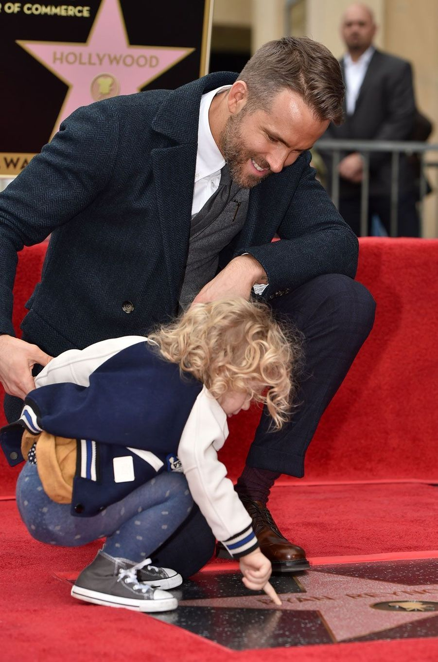 Ryan Reynolds, sa fille James