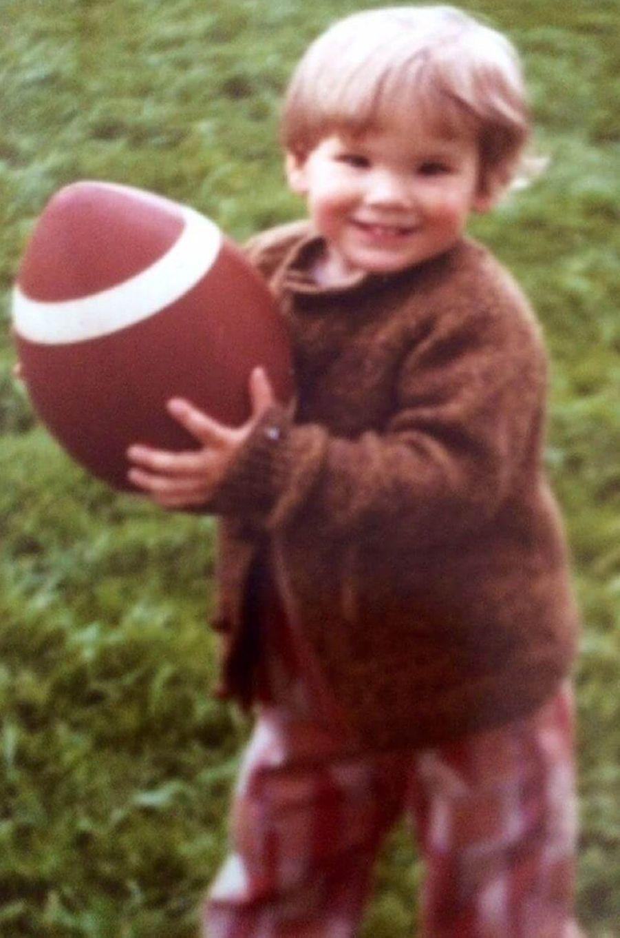 Ryan Reynolds quand il avait 2 ans.