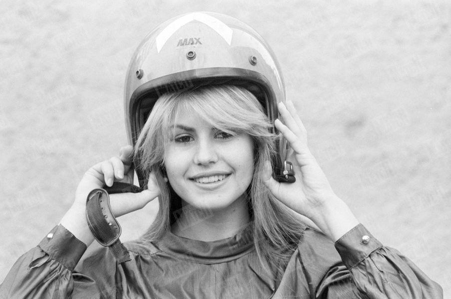 Sabrina Belleval, Miss France 1982, pose pour Match quelques jours après sa victoire à Nice, sa ville natale.