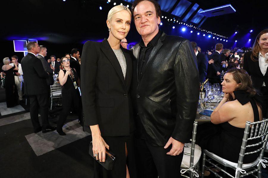 Charlize Theron et Quentin Tarantino