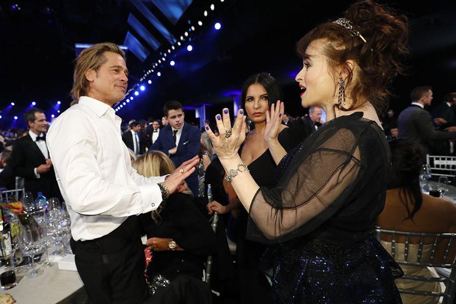 Brad Pitt etHelena Bonham Carter