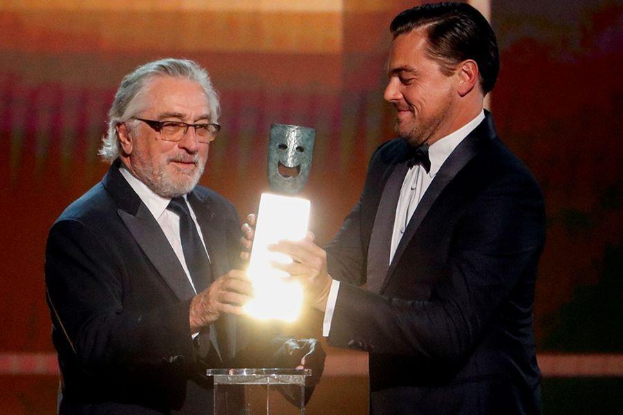 Robert De Niro et Leonardo DiCaprio