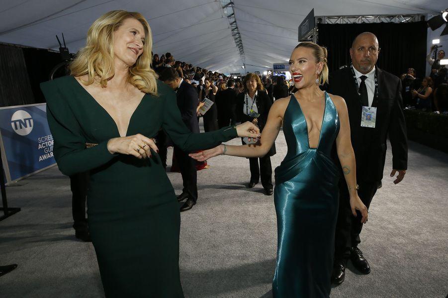 Laura Dern et Scarlett Johansson
