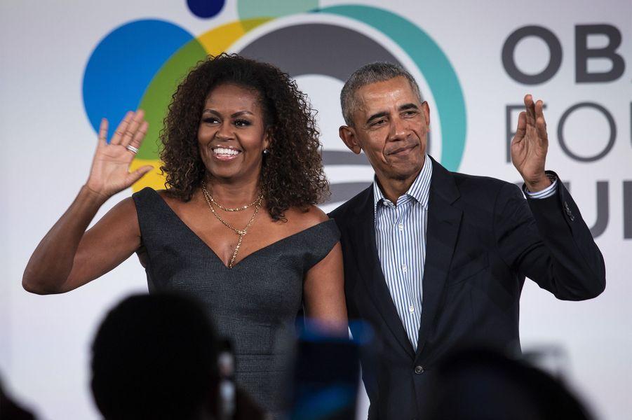 Barack Obama et Michelle Obama sont mariés depuis 1992.