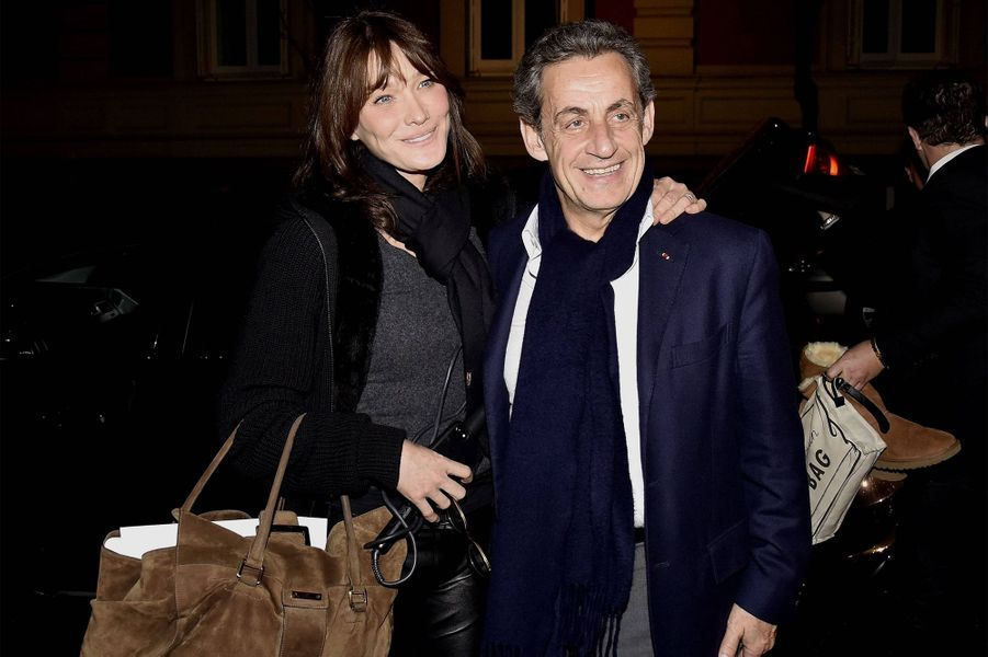 Carla Bruni et Nicolas Sarkozy sont mariés depuis 2008.