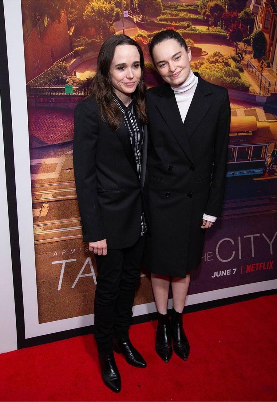 L'actrice Ellen Page et la danseuse Emma Portner sont mariées depuis 2018.