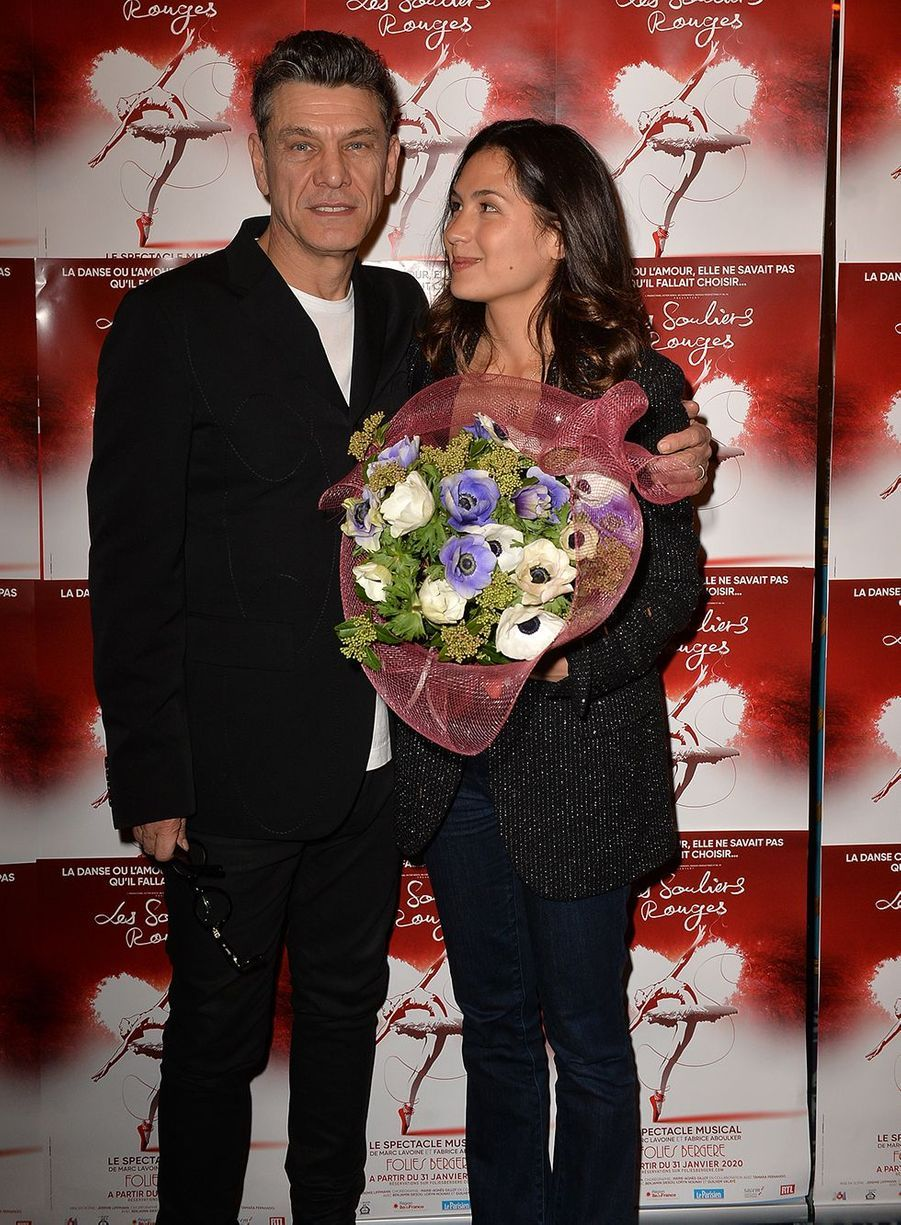 Marc Lavoine et la romancière Line Papin sont ensemble depuis 2018.