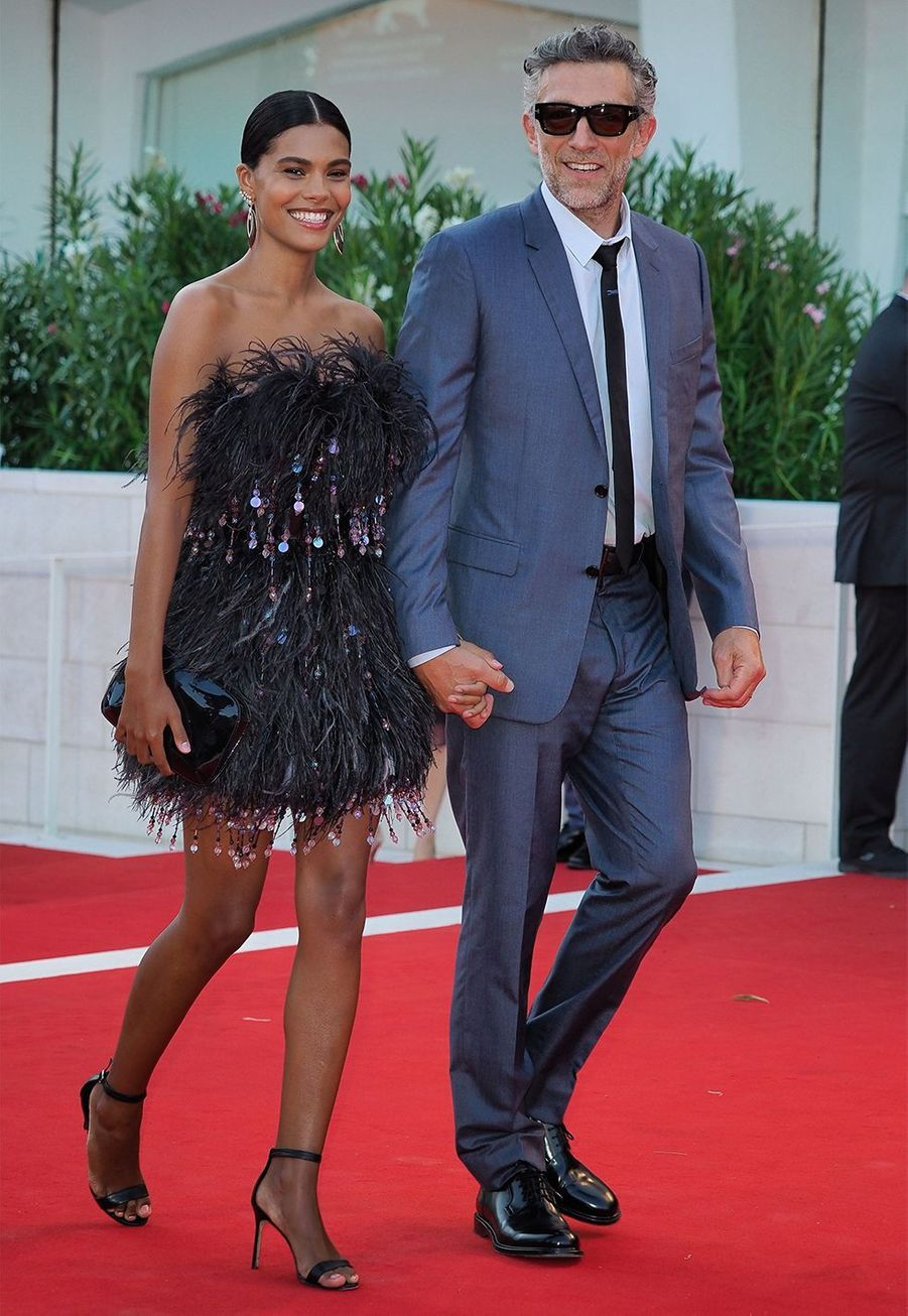 Vincent Cassel et Tina Kunakey se sont mariés en 2018.
