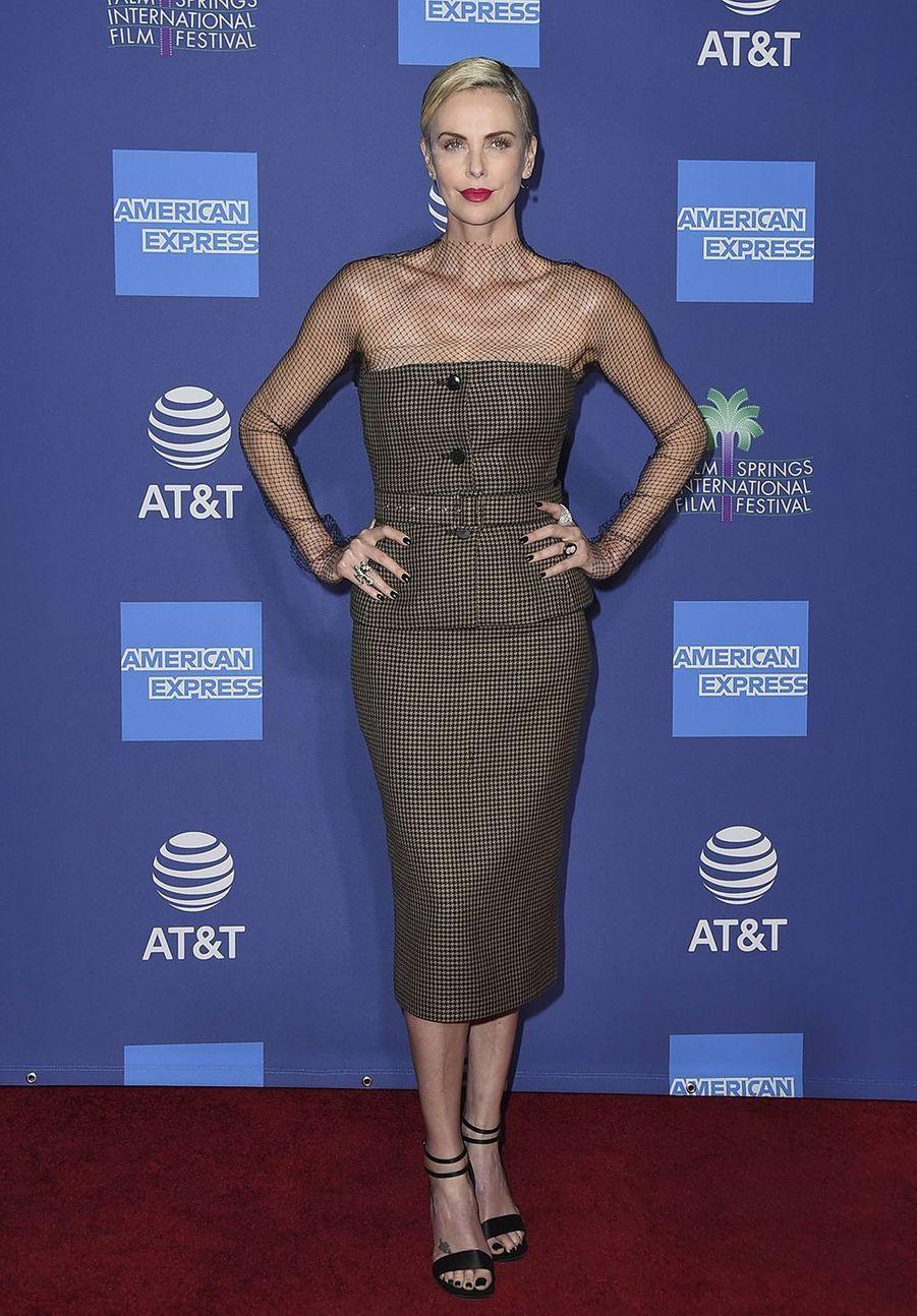 Charlize TheronauPalm Springs International Film Festival le 2 janvier 2020.