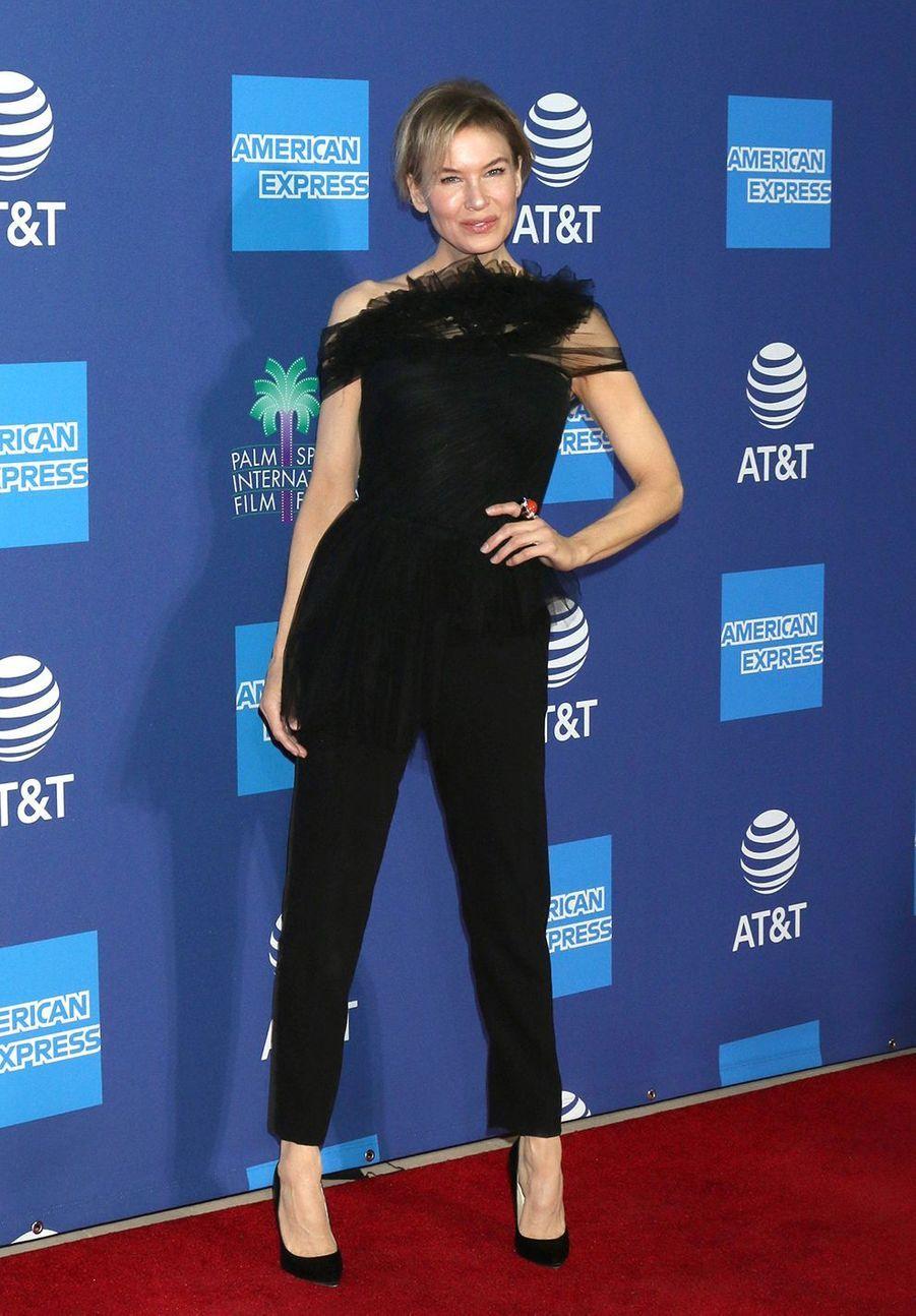 Renée Zellweger au Palm Springs International Film Festival, le 2 janvier 2020.