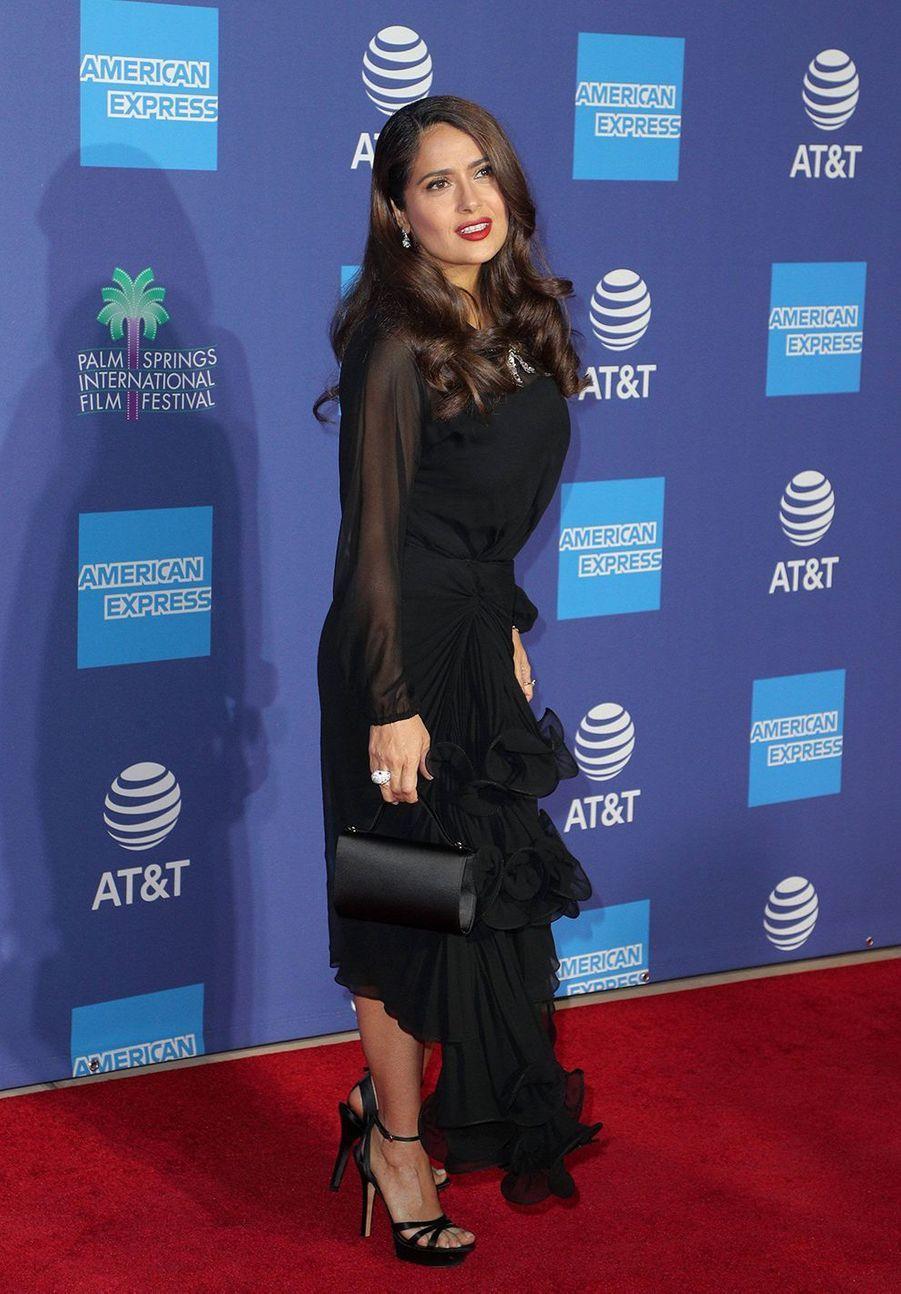 Salma HayekauPalm Springs International Film Festival le 2 janvier 2020.