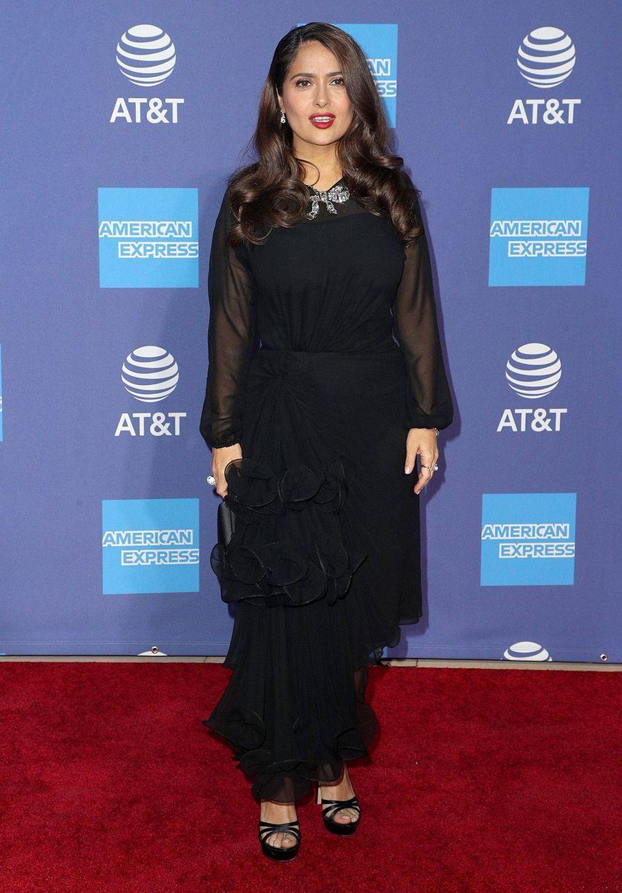 Salma Hayekau Palm Springs International Film Festivalle 2 janvier 2020.