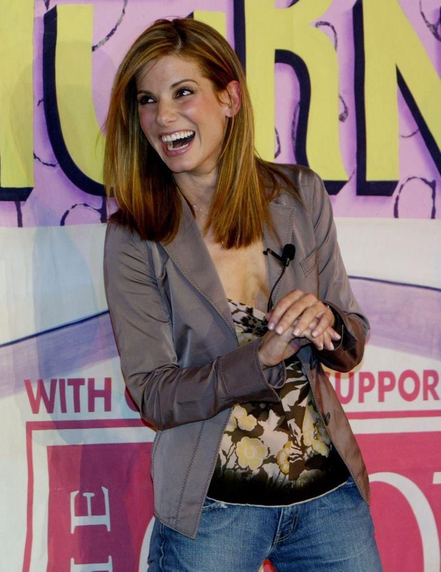 Sandra Bullock en 2004