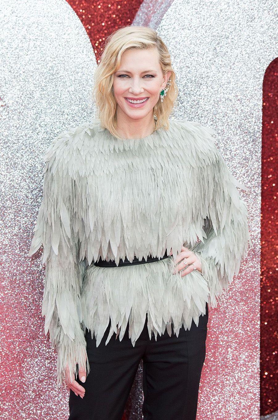 Cate Blanchett à Londres, le 13 juin 2018.