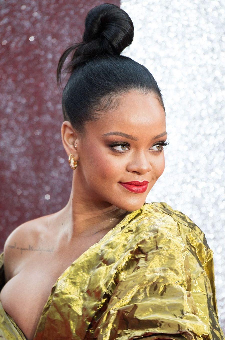 Rihanna à Londres, le 13 juin 2018.