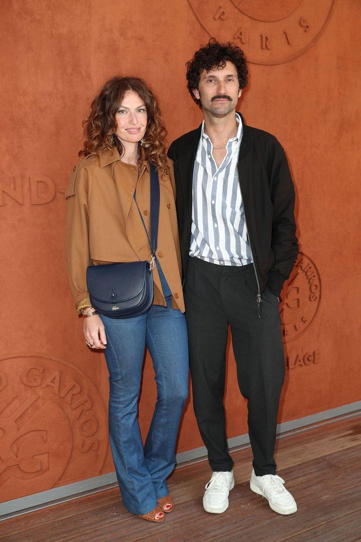 Aurélie Saada et Benoît Pétréà Paris, le 6 juin 2019