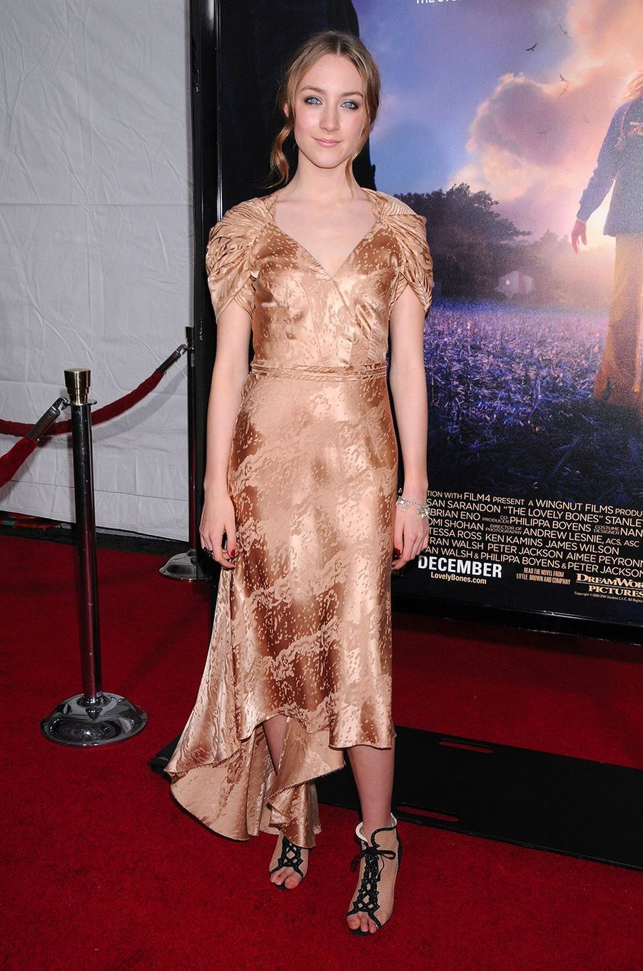 Saoirse Ronan en decembre 2009