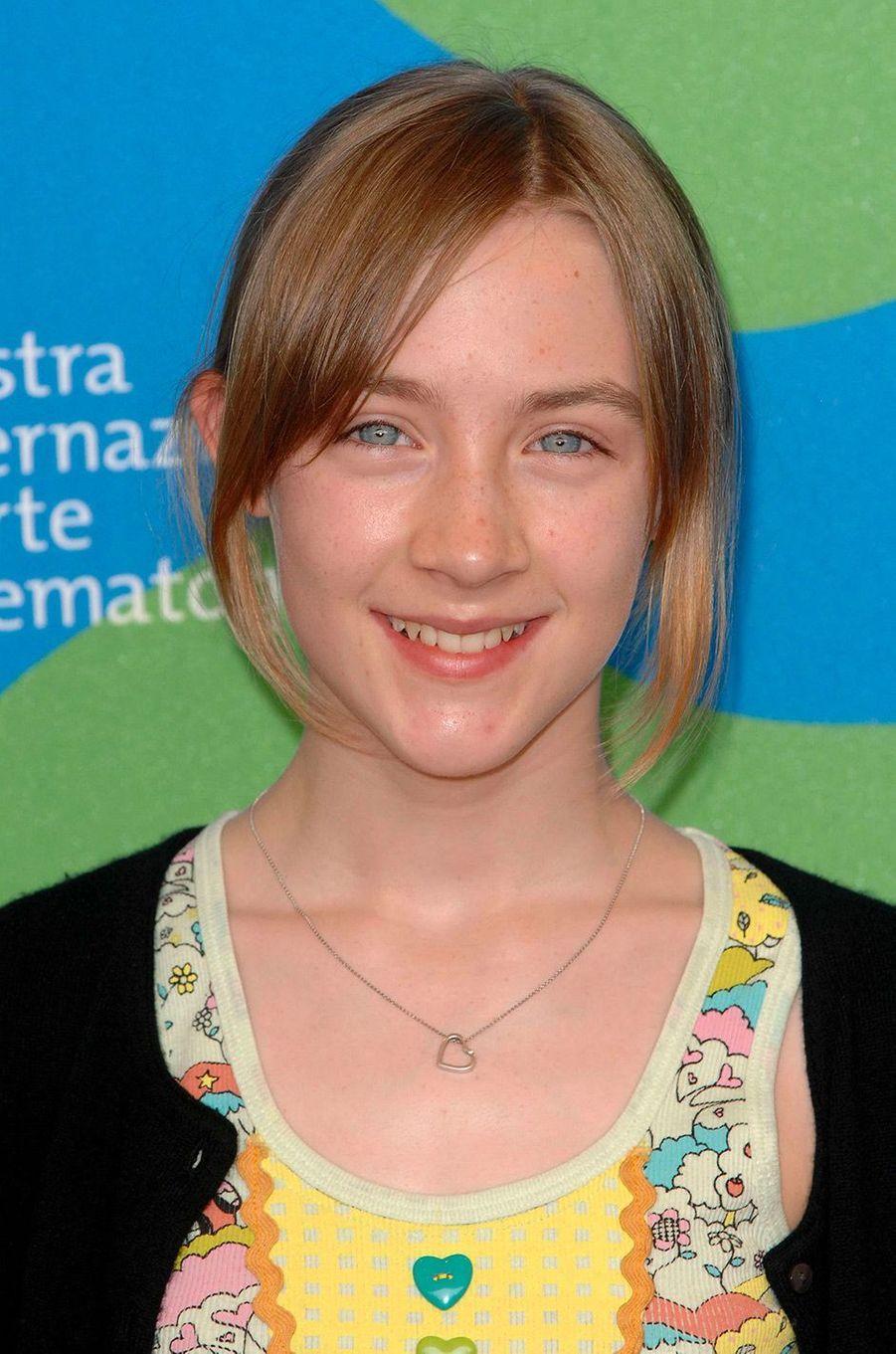 Saoirse Ronan en août 2007
