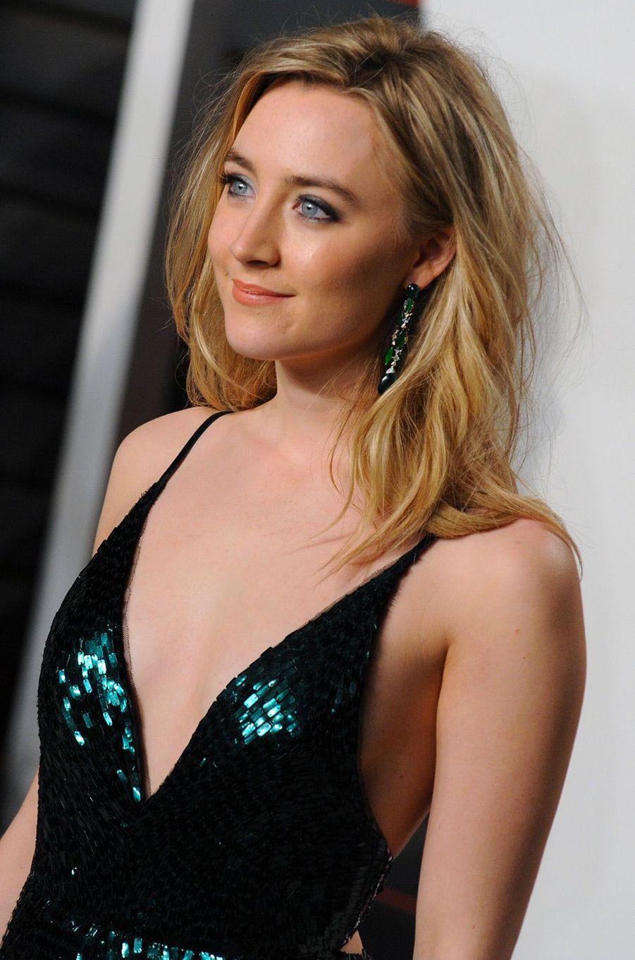 Saoirse Ronan en février 2016