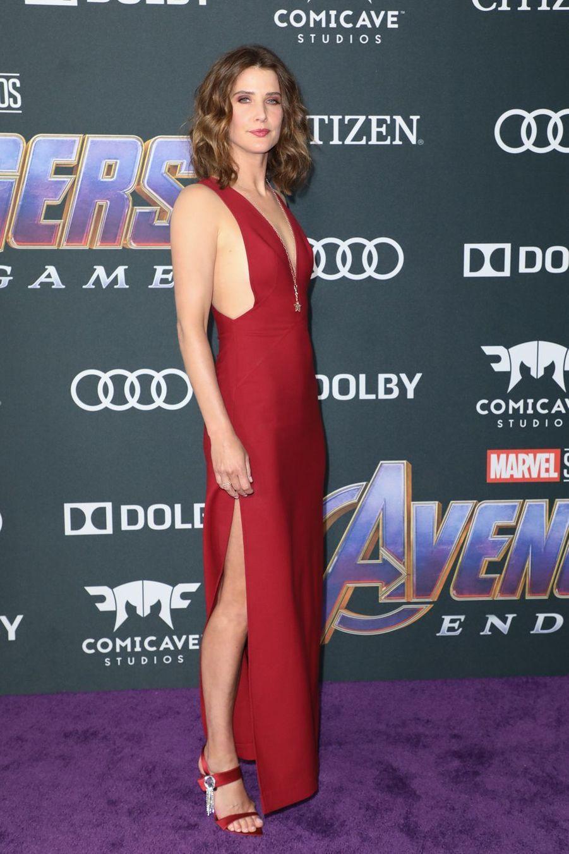 Cobie Smuldersà l'avant-première d'«Avengers : Endgame» à Los Angeles le 22 avril 2019