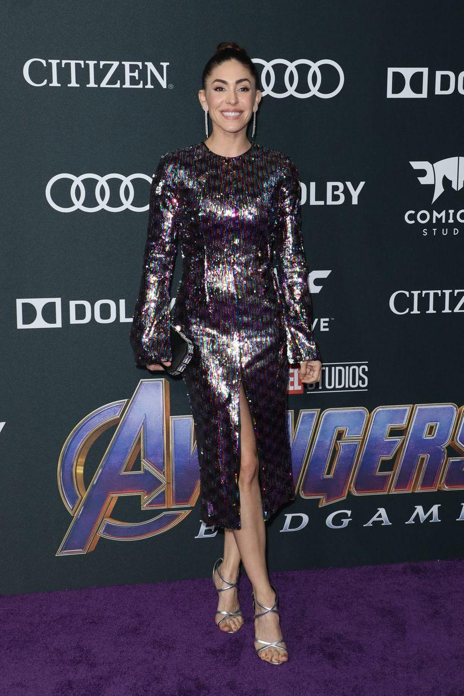 Natalia Cordova-Buckleyà l'avant-première d'«Avengers : Endgame» à Los Angeles le 22 avril 2019