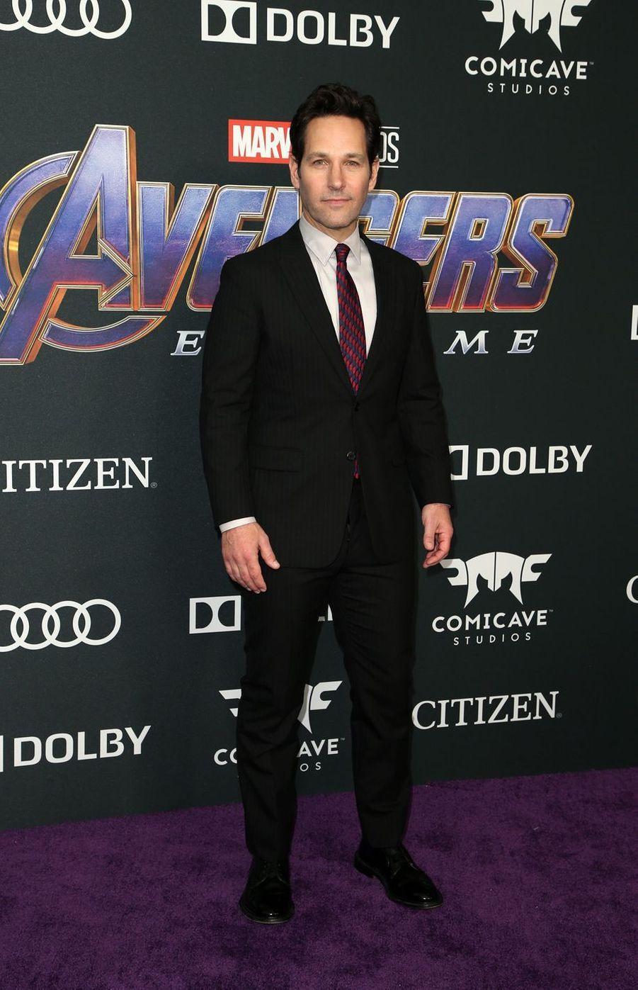 Paul Ruddà l'avant-première d'«Avengers : Endgame» à Los Angeles le 22 avril 2019