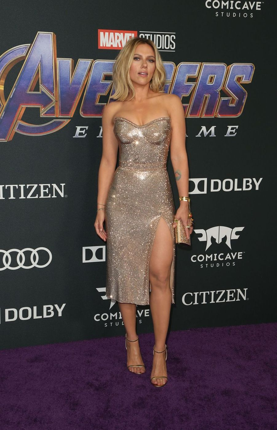 Scarlett Johansson à l'avant-première d'«Avengers : Endgame» à Los Angeles le 22 avril 2019