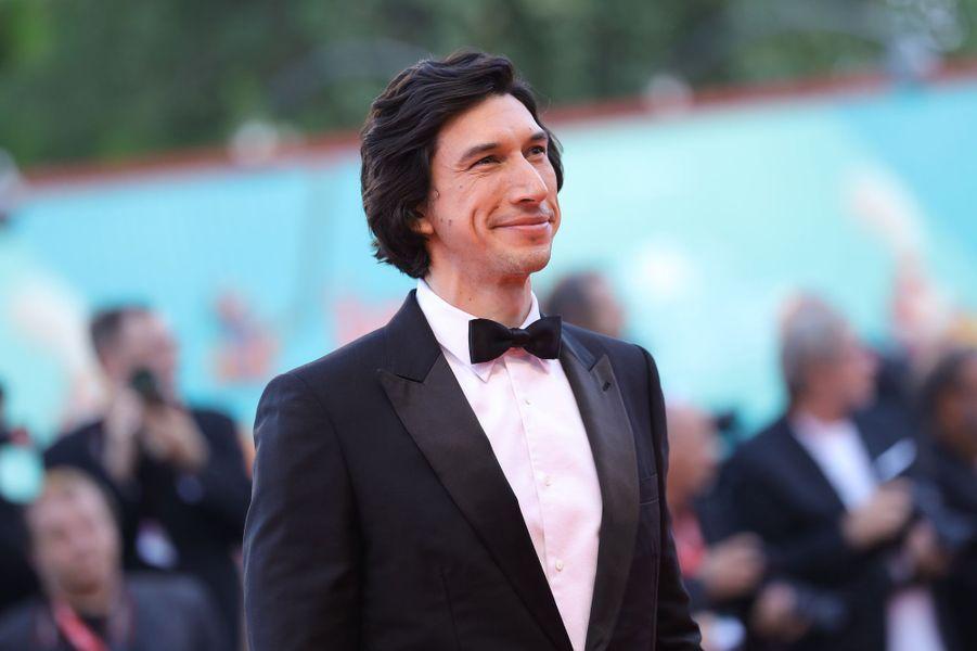 Adam Driverà la première du film «Marriage Story» lors de la 76e édition de la Mostra de Venise le 29 août 2019