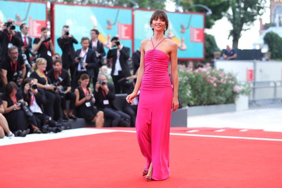 Annabelle Belmondoà la première du film «Marriage Story» lors de la 76e édition de la Mostra de Venise le 29 août 2019