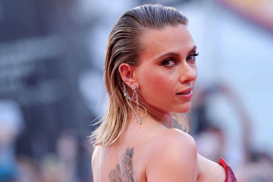 Scarlett Johansson à la première du film «Marriage Story» lors de la 76e édition de la Mostra de Venise le 29 août 2019