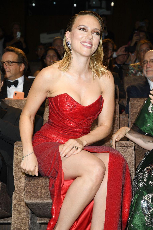 Scarlett Johanssonà la première du film «Marriage Story» lors de la 76e édition de la Mostra de Venise le 29 août 2019