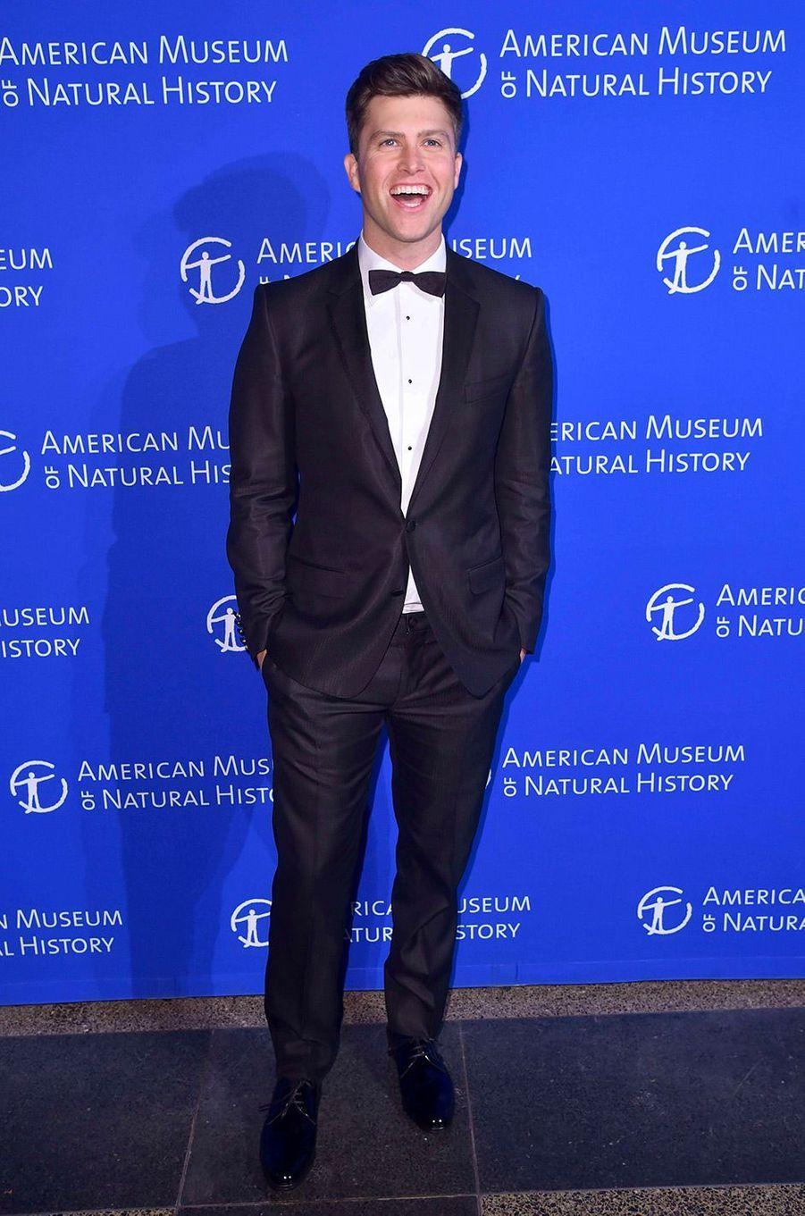 Colin Jost au gala de l'American Museum of Natural History, à New York, le 30 novembre 2017