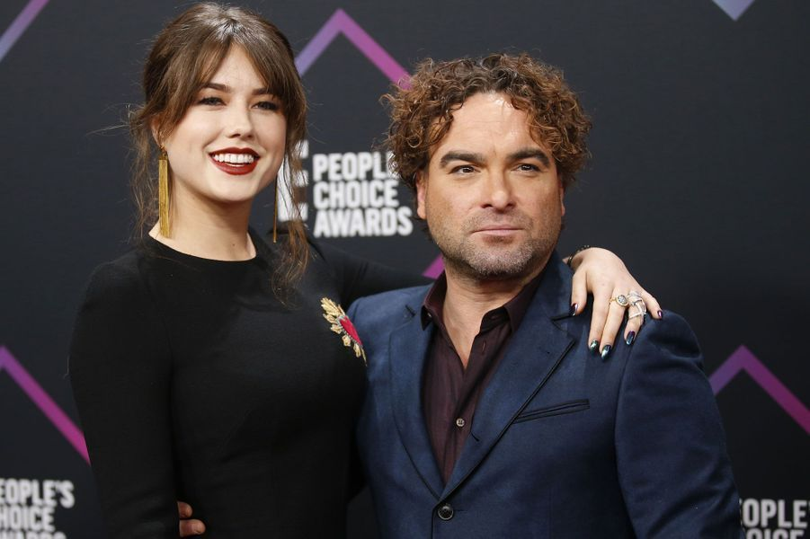 Johnny Galecki et Alaina Meyer