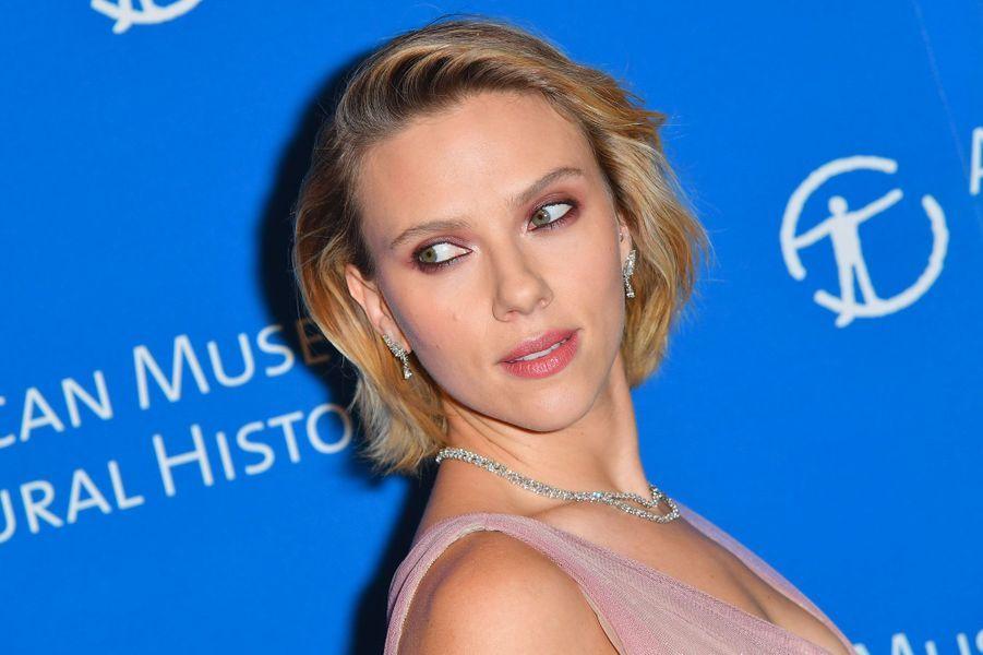 Scarlett Johansson au gala de l'American Museum of Natural History le 15 novembre 2018