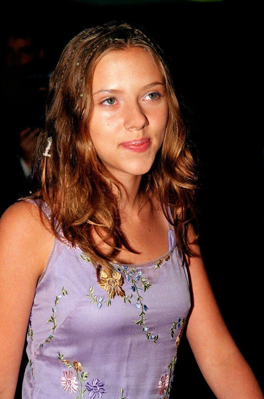 Scarlett Johansson a l'âge de 14 ans