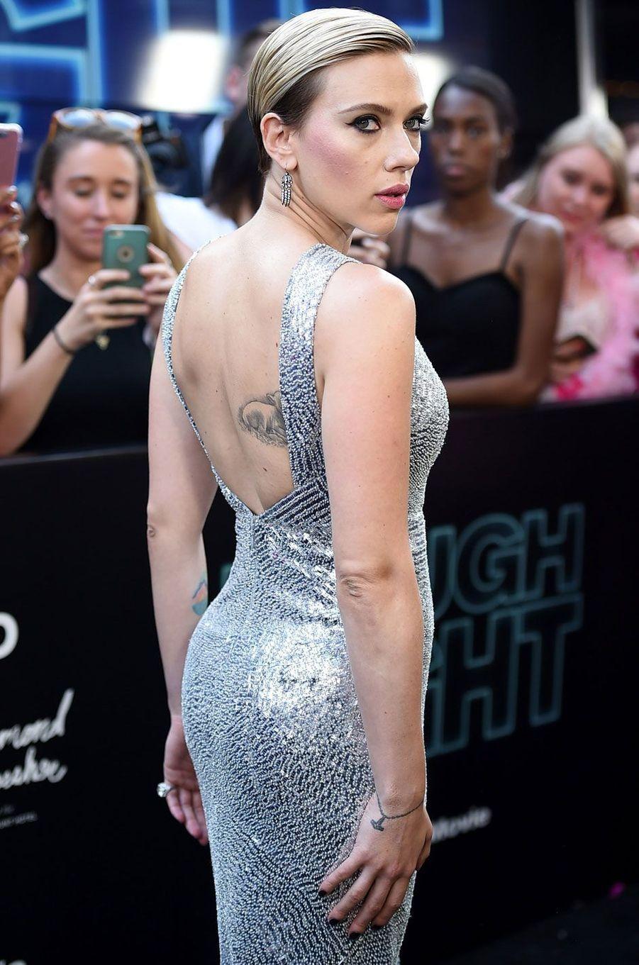 Scarlett Johansson sublime à New York