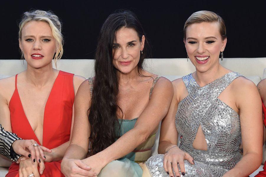 Kate McKinnon, Demi Moore et Scarlett Johansson.