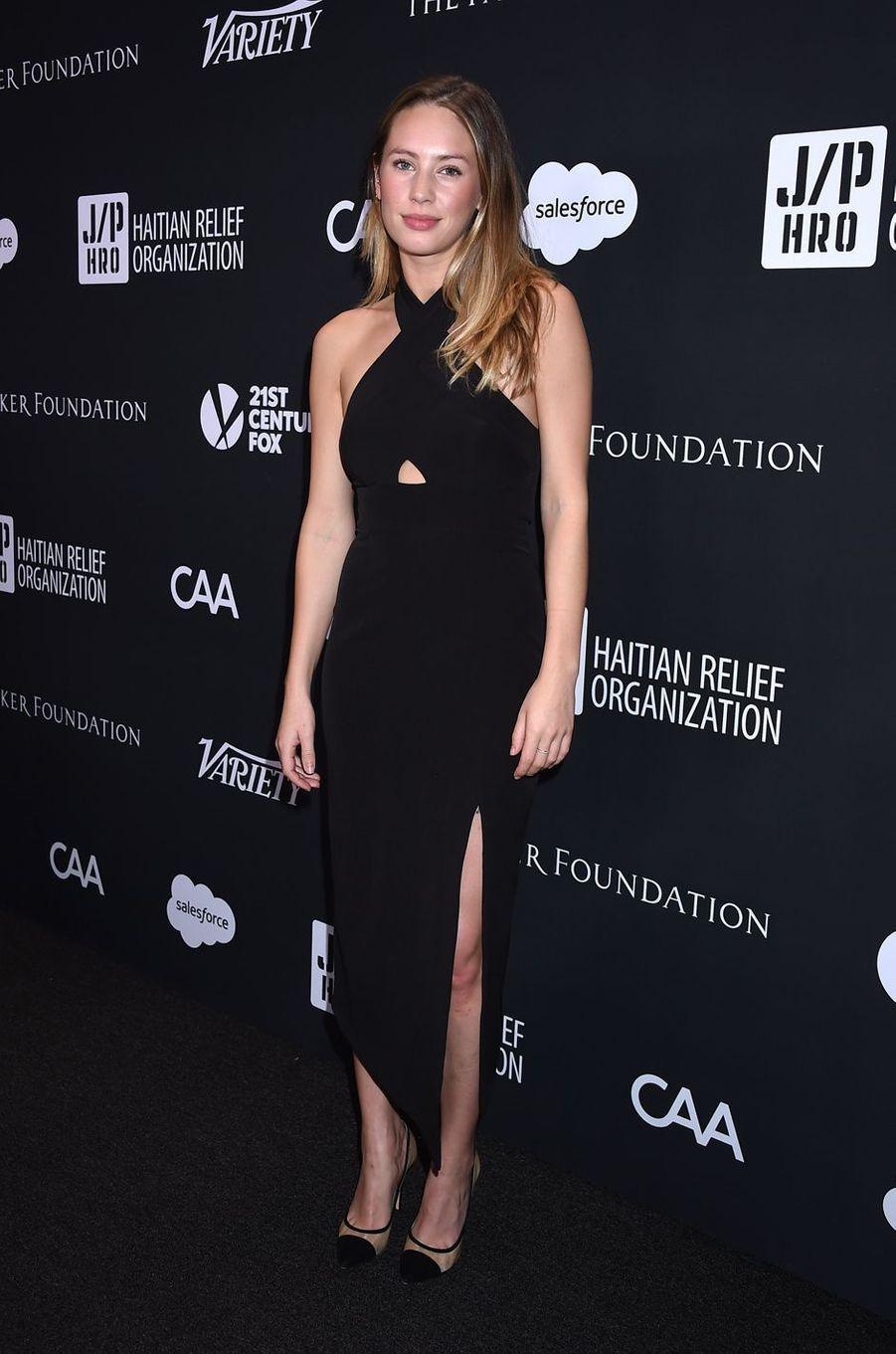 Dylan Pennau gala de la J/P Haitian Relief Organization, la fondation de Sean Penn, à Beverly Hills, le 7 janvier 2017.