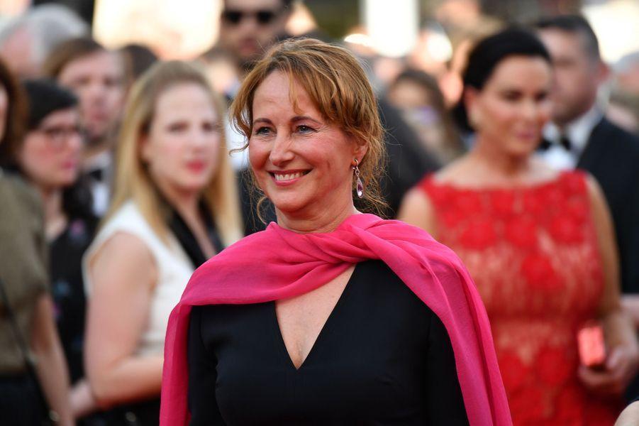 Ségolène Royal est au festival de Cannes pour assister à la projection du film «Une suite qui dérange: le temps de l'action».