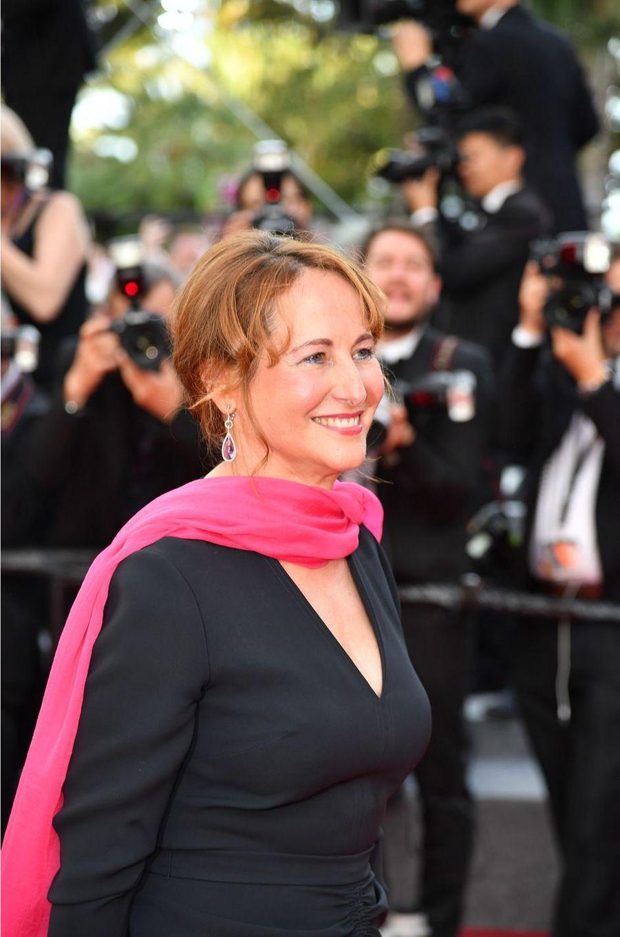 Ségolène Royal au festival de Cannes pour assister à la projection du film «Une suite qui dérange: le temps de l'action».
