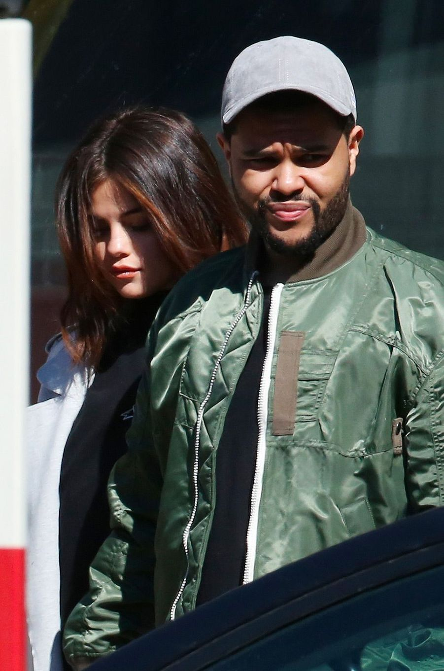 Selena Gomez et The Weeknd à Toronto en mars 2017