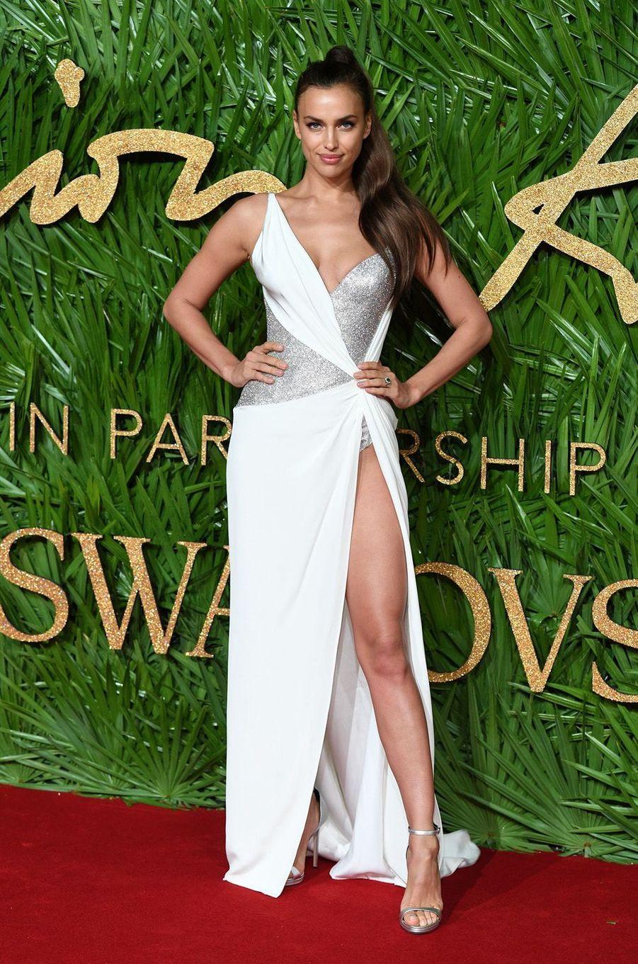 Irina Shaykaux Fashion Awards, le 4 décembre 2017 à Londres.