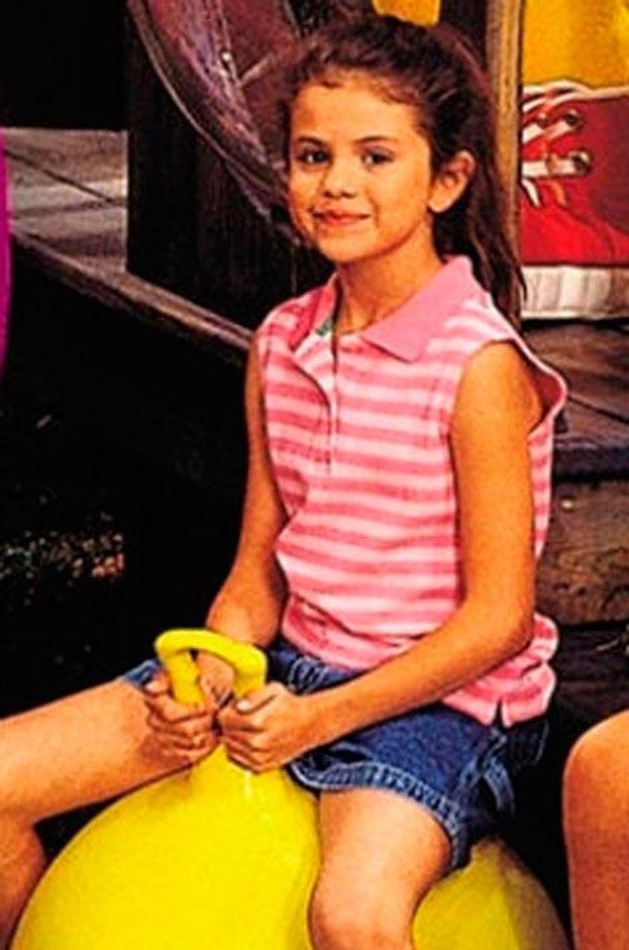 """Selena Gomez jouait dans la série """"Barney's and friends"""""""