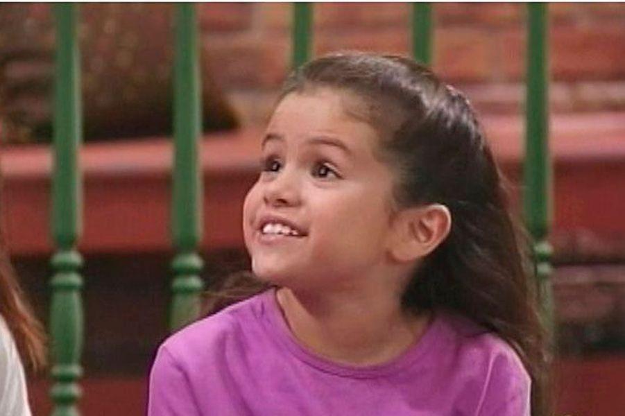 """Selena Gomez a fait ses débuts dans la série """"Barney's and friends"""""""