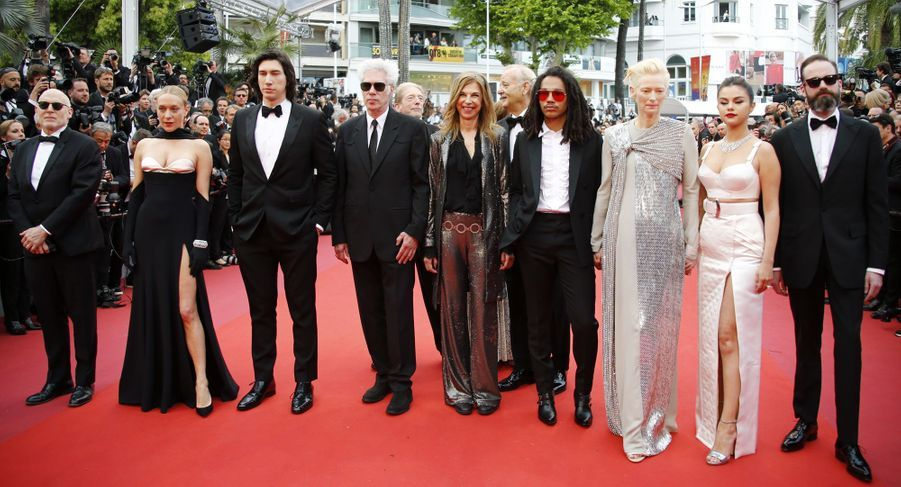 L'équipe du film «The Dead Don't Die» lors du 72e Festival de Cannes le 14 mai 2019